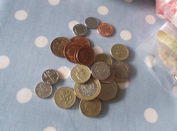 £9.11 change
