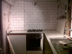 Kitchen bombsite (renovation as opposed to cooking related - for once)