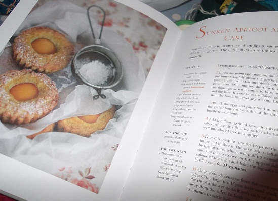 Red Velvet and Chocolate Heartache - Harry Eastwood! A truly beautiful book that Ian gave Becksie - must make these Sunken apricot and almond cakes!