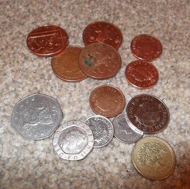 £2.01 change!