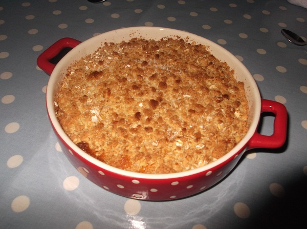 Bake in a hot oven (190c) for approx 25 mins or until golden brown