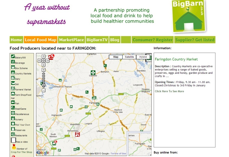 BigBarn Map