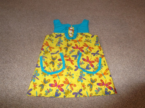 Dress by Mary (complete with french seams)