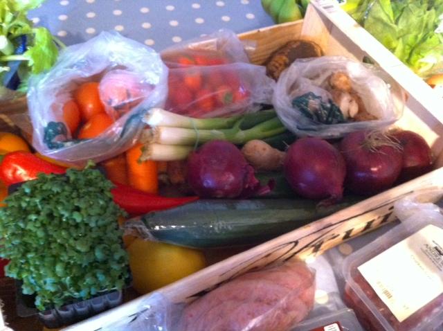 Part one of this weeks shop - Highworth market / butcher