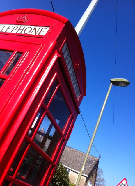 Taken by Lizzie who loves this phone box and takes us on regular pilgrimages to knock on its door - how many of this lovely creatures do you walk past and not even notice.